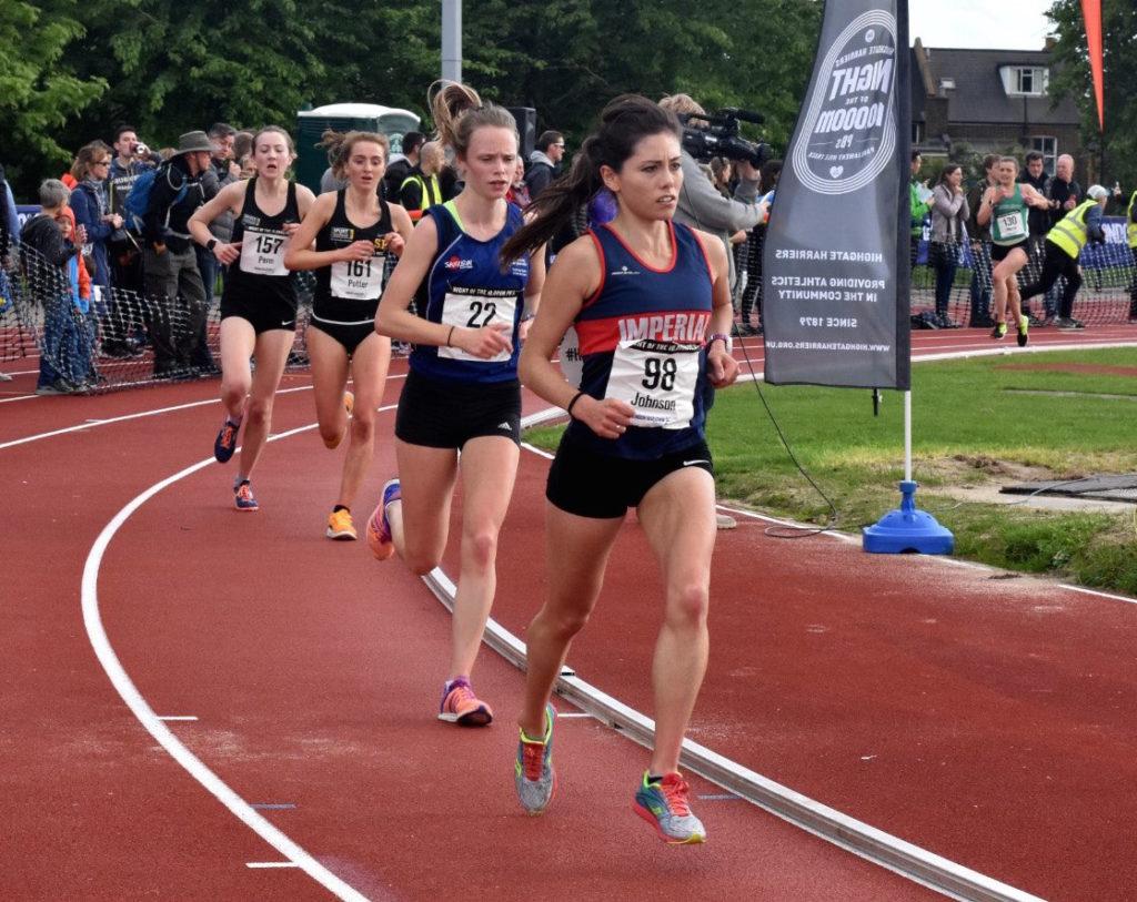 Sarah Johnson running
